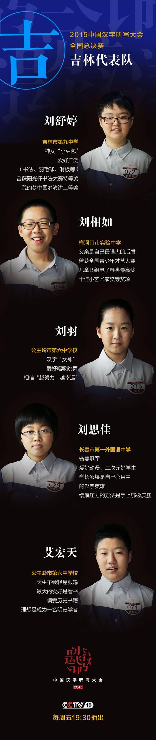 中国听写大会_2015中国汉字听写大会第三场选手_科教_央视网(cctv.com)