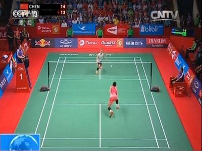 印尼羽毛球世锦赛:谌龙,赵芸蕾成功卫冕