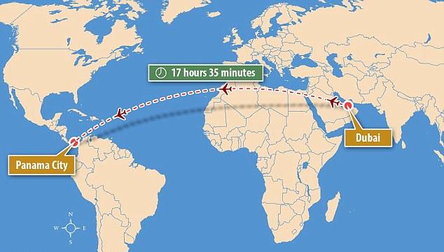 阿航将开通全球最长直飞航线 飞行时间17小时35分