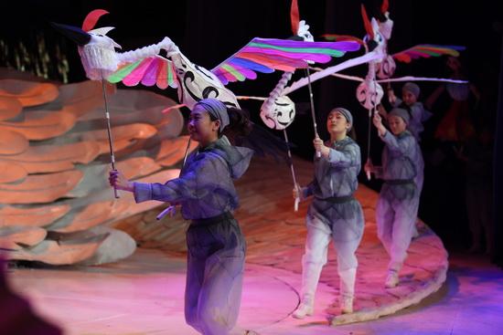 丹顶鹤》再度登陆中国木偶剧院