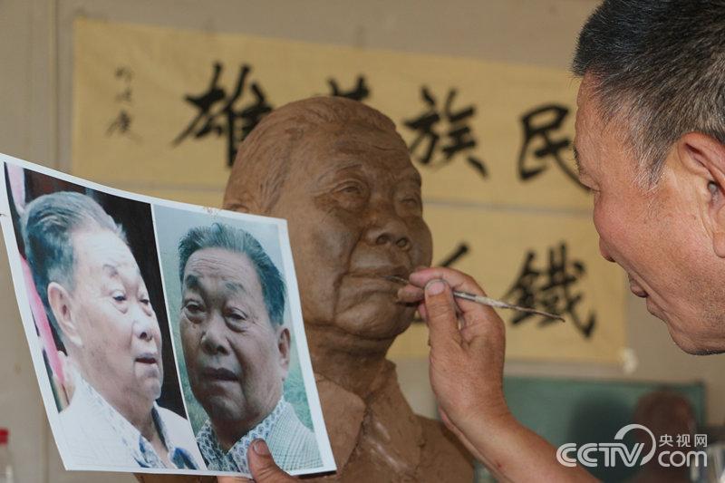 祁继庆:我为老兵塑像 留住最真实的历史