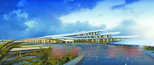 【視頻】廈門新機場候機樓設計方案出爐