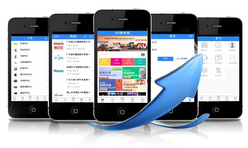 商用APP电子市场助力顺德电器 正式来袭 粤