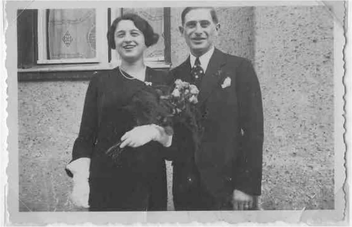 Свадьба Эдит и Эрхарда Пульвермахера в Берлине, 21 сентября 1935 года