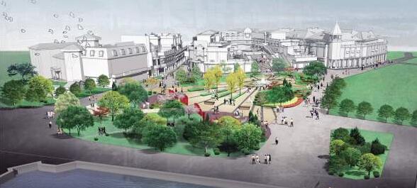 鼓浪屿核心商业街立面整治初步方案部分设计效果图