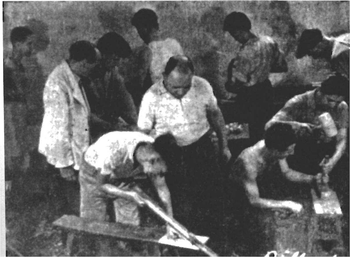 Группа по подготовке плотников