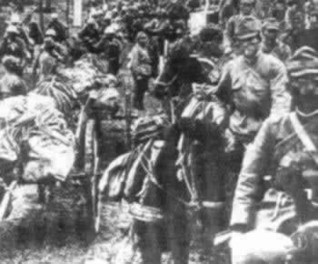 福州发现的侵华罪证:日军带着抢来的物资撤退