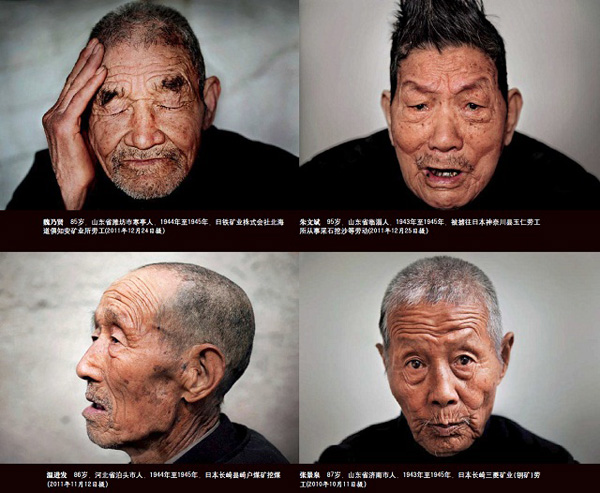 Fotógrafo retrata a trabajadores chinos que sobrevivieron la invasión japonesa