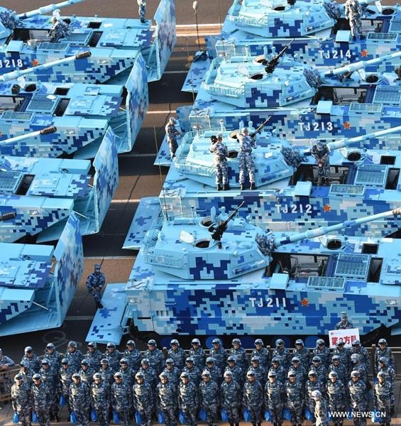 فعالية الذكرى الـ70 لانتصار حرب المقاومة الصينية ضد العدوان الياباني