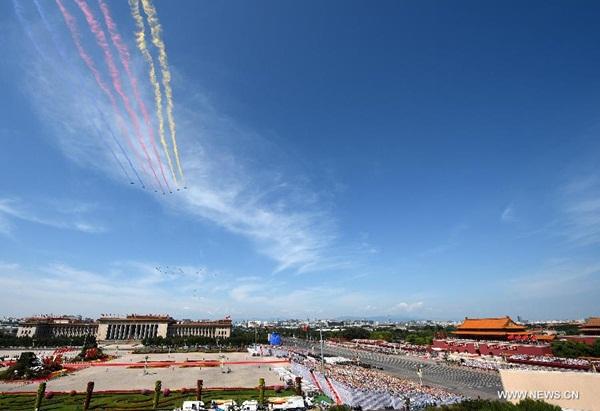 انعقاد اجتماع عام كبير لإحياء الذكرى ال70 لانتصار مقاومة الشعب الصيني ضد العدوان الياباني