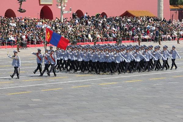 موكب القوة المنغولية
