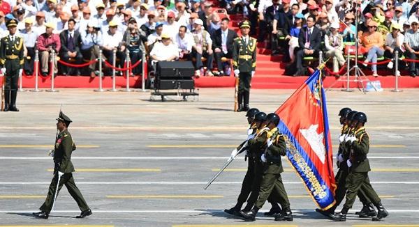 موكب القوة الكمبودية