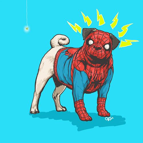 微信头像卡通狗狗