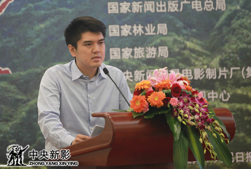 中国社会科学院世界传媒研究中心秘书长、制作方代表冷凇阐述影片创作构思