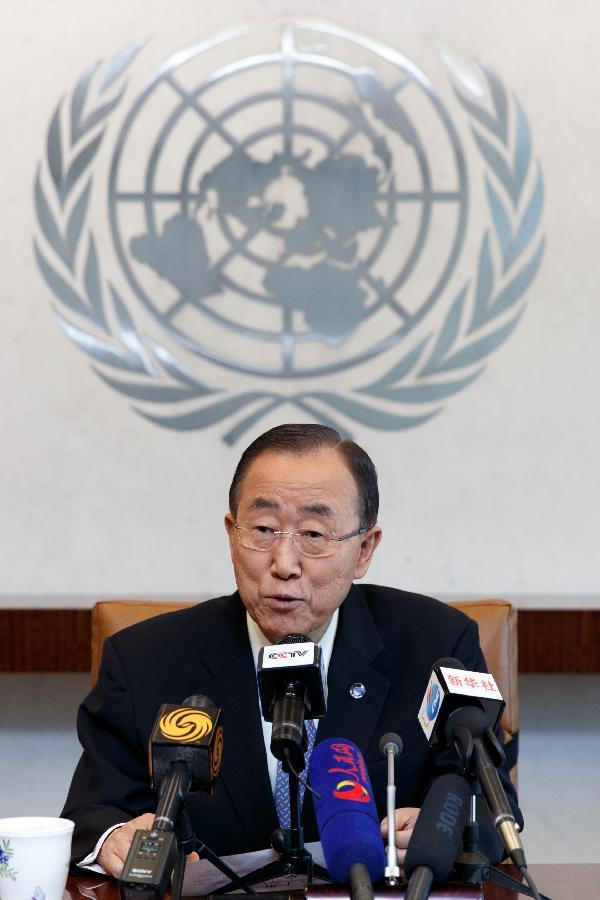 Ban Ki-moon: la contribution et les sacrifices de la Chine méritent la reconnaissance de la communauté internationale (INTERVIEW)