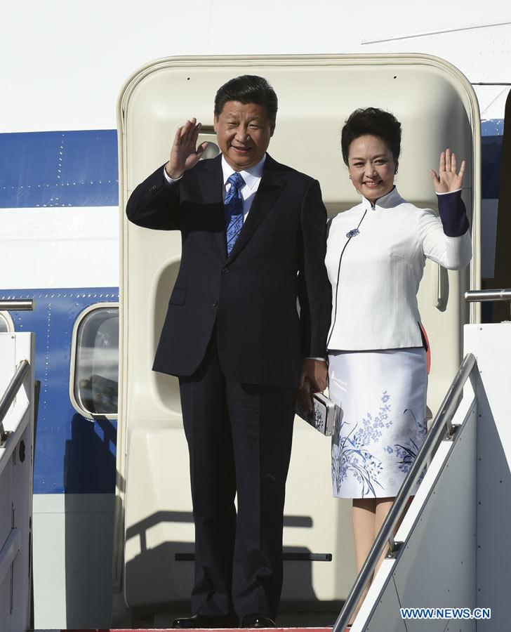Le président chinois Xi Jinping est arrivé mardi à Seattle