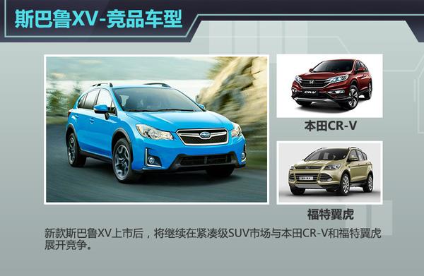 斯巴鲁新款跨界SUV明年引入 为华搭1.6T