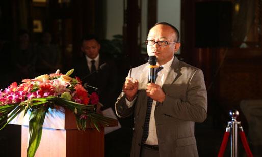 中脉中国区总裁李达兵致辞