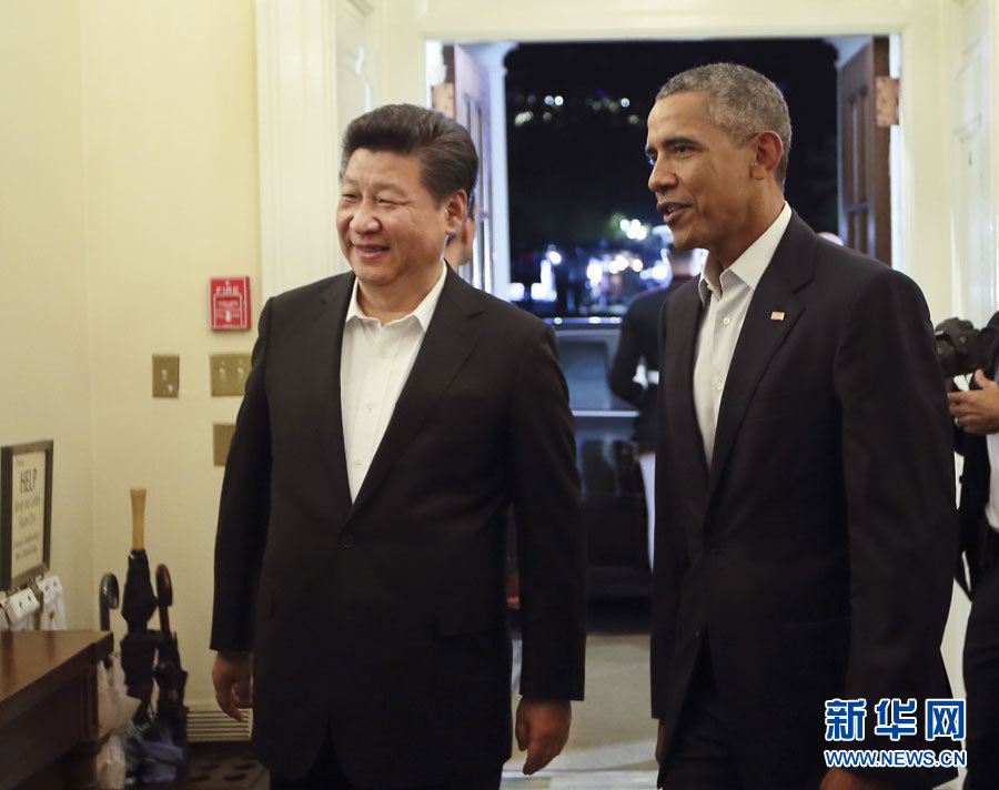Xi Jinping invité à dîner chez Obama