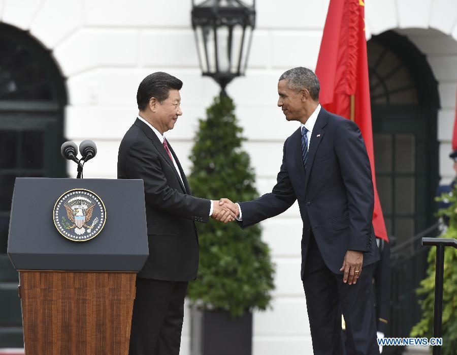 Xi Jinping et Barack Obama se rencontrent à la Maison Blanche
