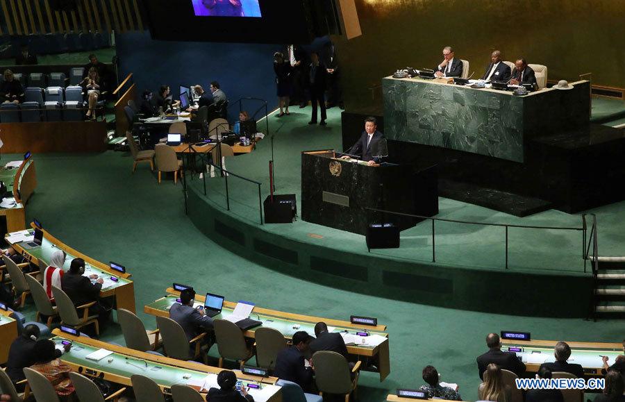 Le président chinois présent au Sommet du développement durable