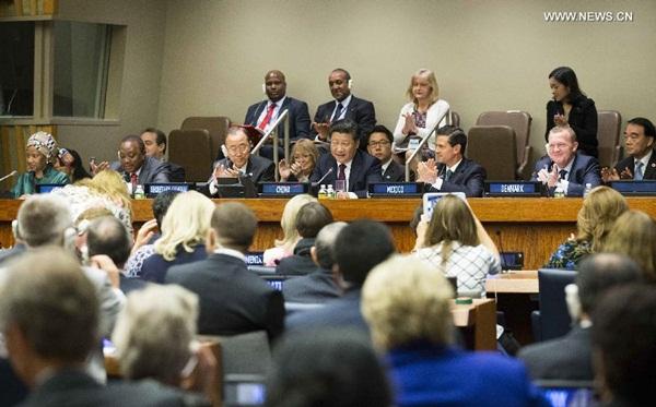 اجتماع قادة العالم حول المساواة بين الجنسين وتمكين المرأة