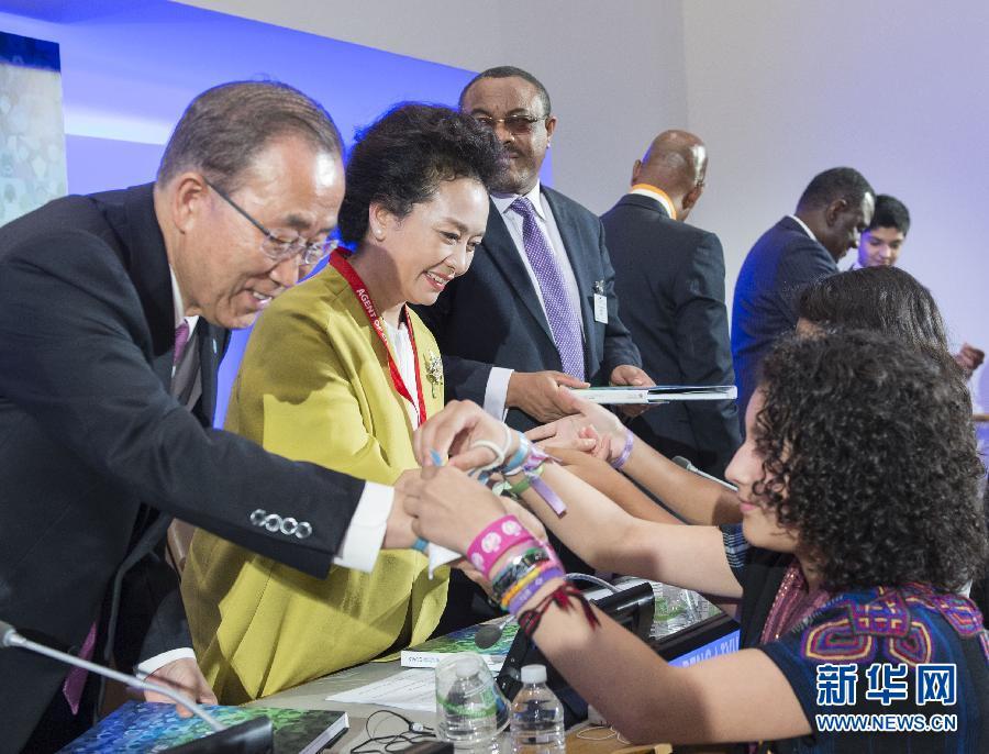 بنغ لي يوان تشدد على أهمية تعليم النساء والفتيات