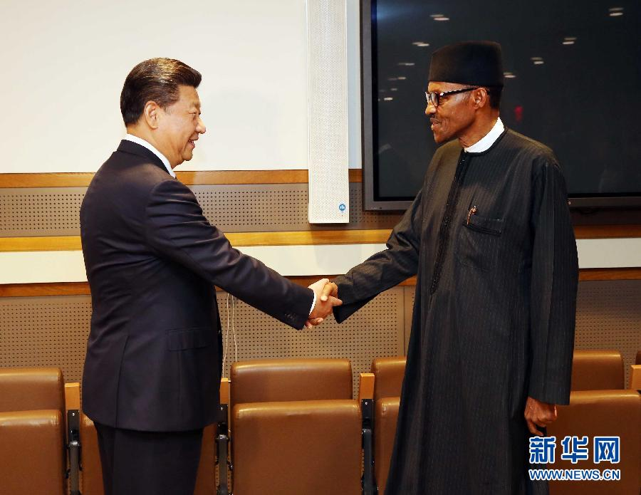 Presidents call for boosting bilateral cooperation with his Nigerian counterpart