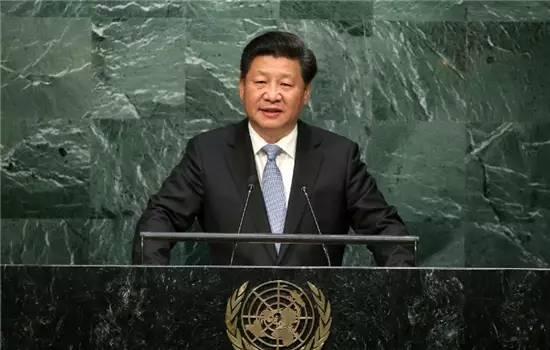 国家主席习近平28日在纽约联合国总部出席第七十届联合国大会一般性辩论。