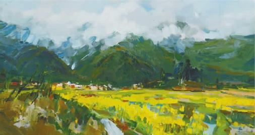 写意油画 中国当代油画的新学术现象