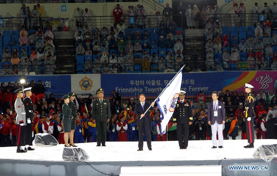 Завершились 6-е Всемирные военные игры