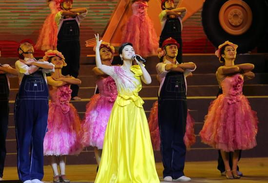 著名歌唱家陈思思演唱《中国梦》