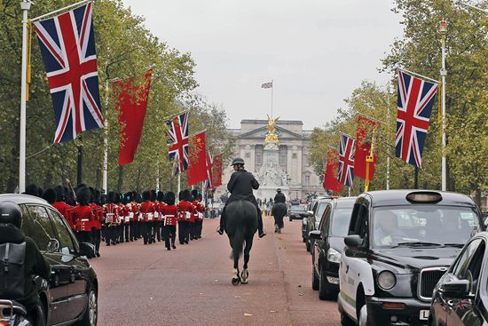 Chinese President Xi Jinping is paying a state visit to the United Kingdom, Oct. 19 to 23.