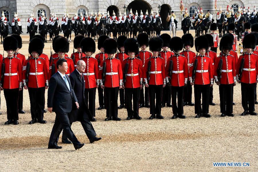 La Grande-Bretagne organise un accueil royal pour le président chinois