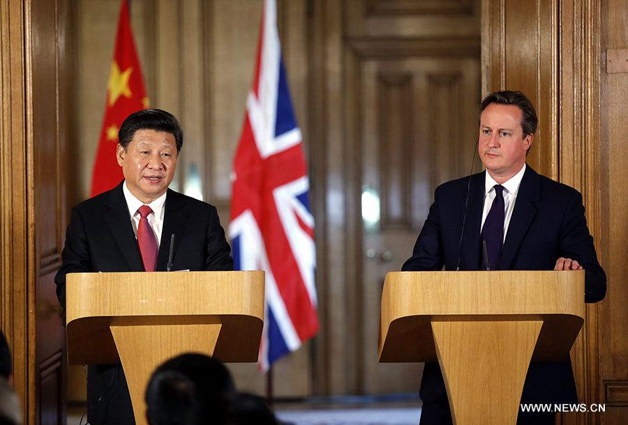 Le dirigeant chinois se montre confiant lors de sa visite au Royaume-Uni