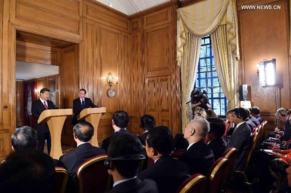 """الصين وبريطانيا ترفعان الشراكة إلى مستوى """" عالمي"""""""