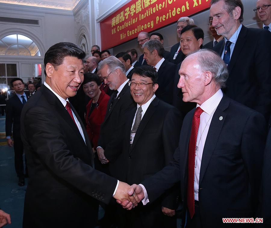 Le président chinois visite Inmarsat et participe à une conférence de l