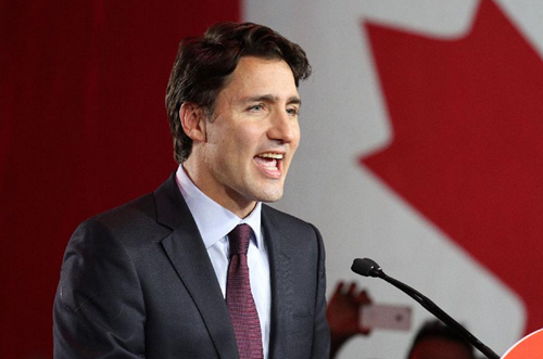 Justin Trudeau is the newly elected Prime Minister of Canada and leader of the Liberal Party.