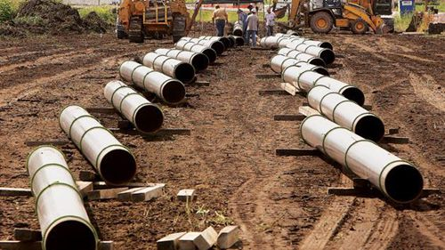 The Keystone XL pipeline is a USD 8 billion project that would carry oil sands crude from Western Canada to southern Nebraska.