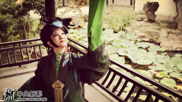 广东汉剧电影《白门柳》剧照