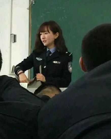 感谢大家关注   我只想教书育人   昨日,郑州晚报记者从河南警察学院