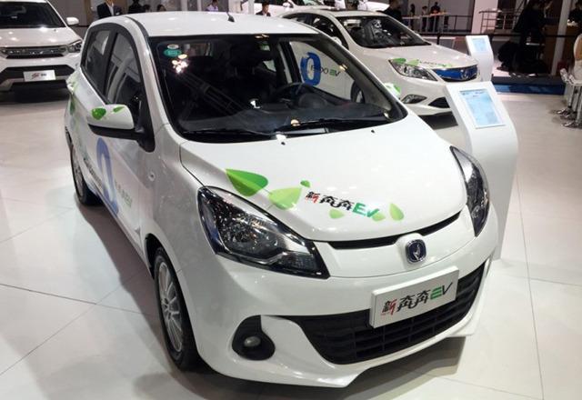 曝长安汽车新能源车规划 奔奔ev明年上市