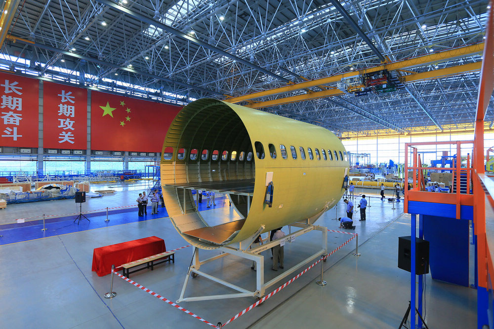 首架新一代国产大飞机c919即将下线