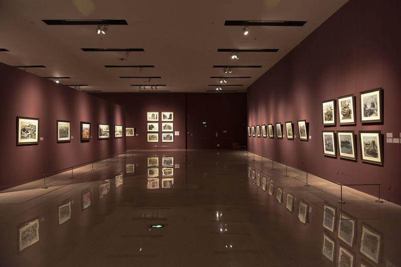 袁运甫画展 在国家博物馆开幕