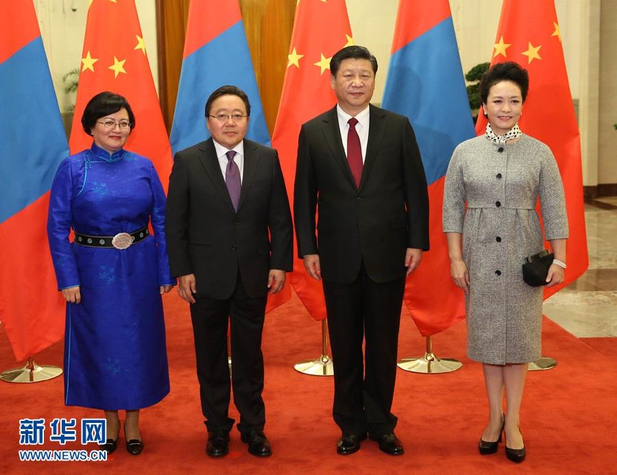 رئيس منغوليا يزور الصين