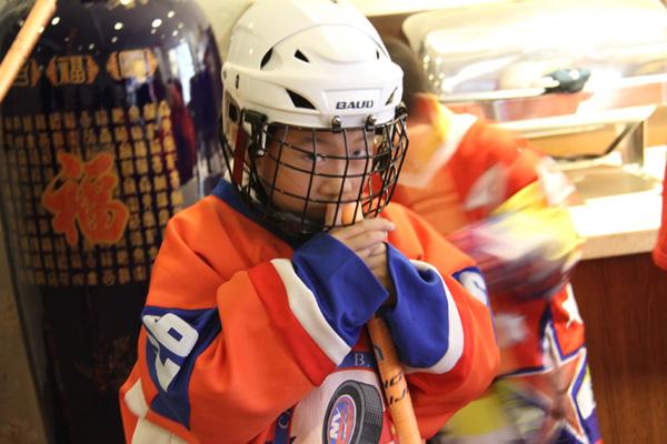 冰球小学生