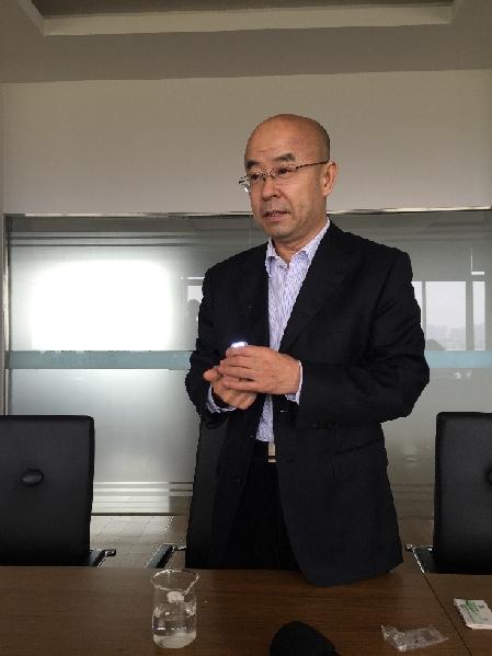 台州非常新能源科技有限公司总经理张树雄。
