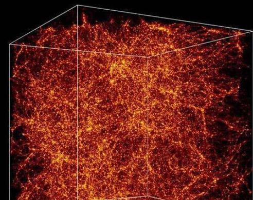 暗物质模拟图 暗物质卫星结构设计独特