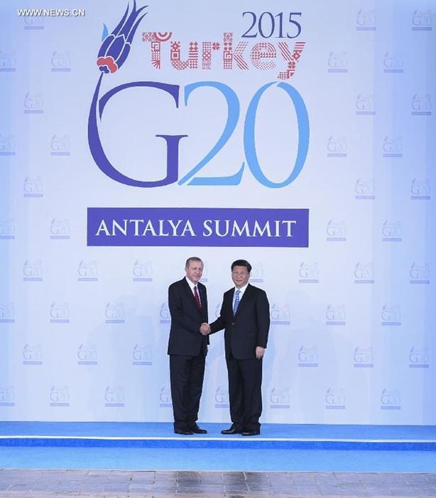 انطلاق أعمال قمة مجموعة الـ20 في تركيا وشي يستعرض آراء الصين