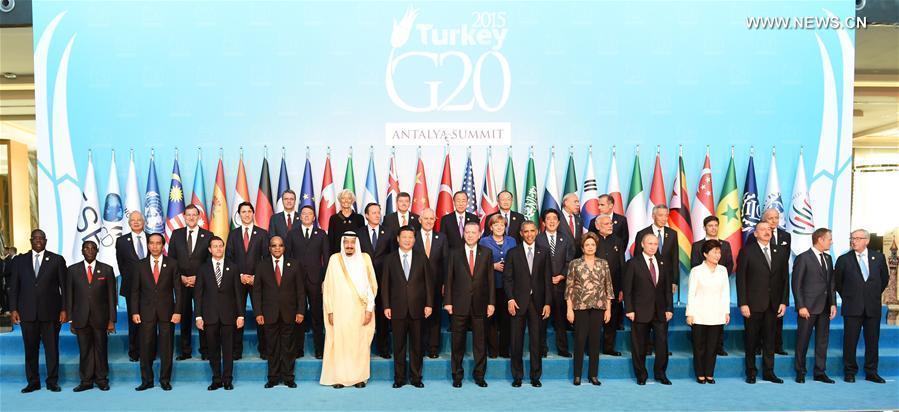 Ouverture du sommet du G20 en Turquie, où Xi Jinping présentera les points de vue de Chine